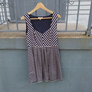 Vintage Striped Spring Dress